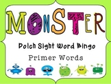 Monster Sight Word Bingo and Flash Cards- Dolch Primer