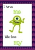FREE! Monster Sight Word I have...Who has?