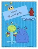 Monster Sight Word go Fish