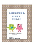 Monster Sight Words 1-50