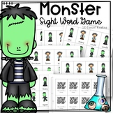 Monster Sight Word Game For Nondecodable Words