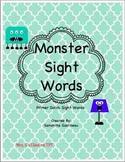 Monster Sight Words - Primer