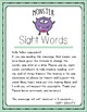 Sight Words Worksheet - Set 1 - Fry's 100 (Monster)