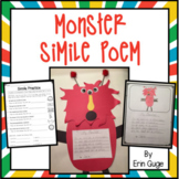 Monster Simile Poem: Lesson Plans and Printables for Teach