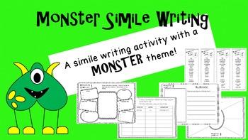 Monster Simile Writing
