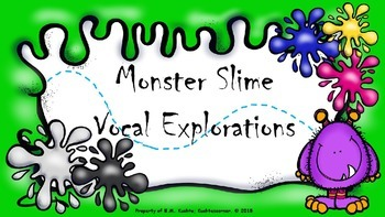 Monster Slime Vocal Explorations - PPT Edition