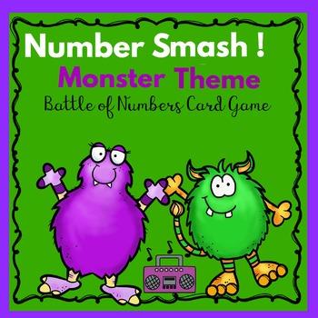 Kindergarten-Special Education -Number Sequence Game, Monster Smash