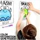 Monster Smash Color Recognition FREEBIE