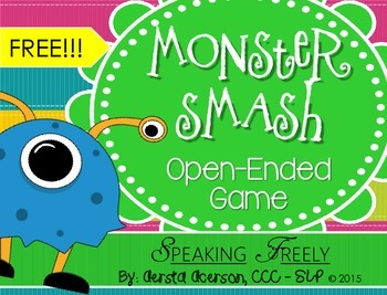 Monster Smash Open-Ended Game