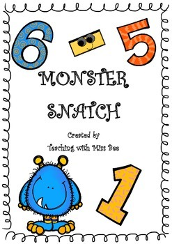 Monster Snatch - A Subtraction Game