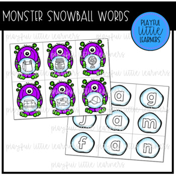 Monster Snowball Words
