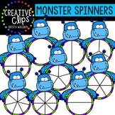 Monster Spinners {Creative Clips Digital Clipart}
