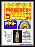 """Monster Spray"" Zip File, Mp3 Song to Help Children Overcome Fears"