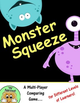 Monster Squeeze- A Comparing Numbers Math Game