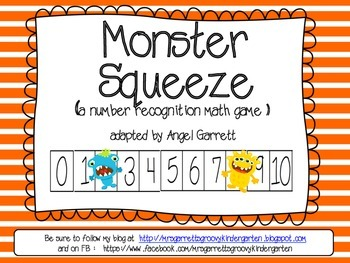 Monster Squeeze (A Number Recognition Game)