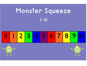 Monster Squeeze SMART Board Lesson