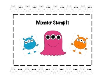 Monster Math Centers