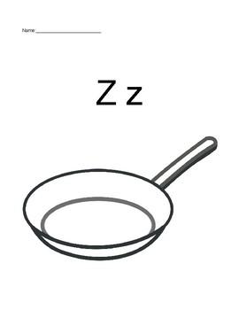 Monster Stir Fry - Initial Sound V and Z