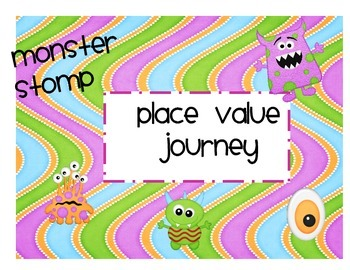 Free Place Value Journey- Monster Stomp