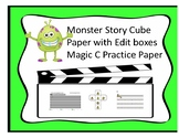 Monster Story Cube and Paper