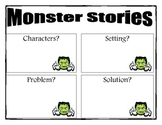 Monster Story Graphic Organzier