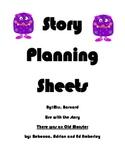 Monster Story Planning Sheet