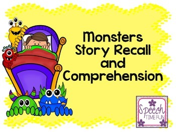 Monster Story Recall and Comprehension