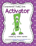 Monster Strategies {Activating Schema} - Collect Them All!