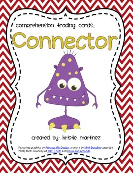 Monster Strategies {Making Connections} - Collect Them All!