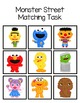 Monster Street Matching Folder Game for Early Childhood Special Education
