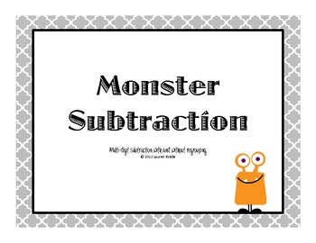 Monster Subtraction
