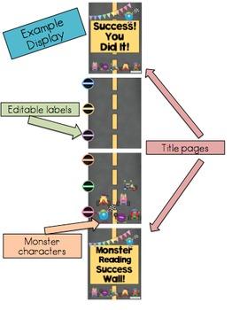 Monster Success Wall Poster Display Data Wall Editable