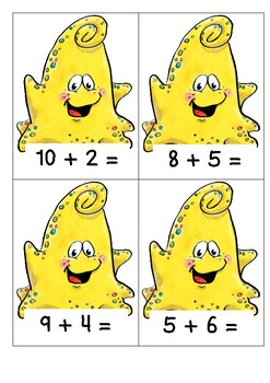 Monster Sum Chomp - Addition and Subtraction