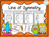 Monster Symmetry Differentiated Worksheets
