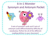 Synonym and Antonym Value Monster Pack