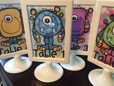 Monster Table Numbers