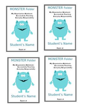 Monster Take Home Folder