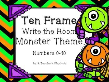 Monster Ten Frame Read the Room