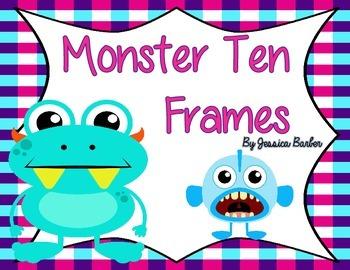 Monster Ten Frames