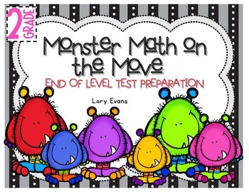 End of the Year Monster Test Prep