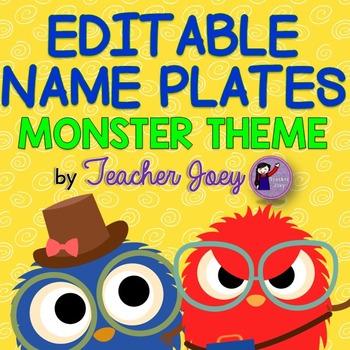 Monster Theme