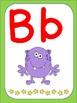 Monster Theme ABC Set