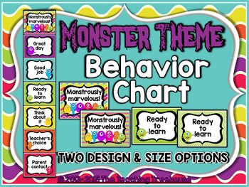 Monster Theme Behavior Clip Chart