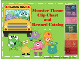 Monster Theme Behavior Clip Chart and Reward Catalog