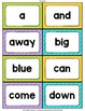 Monster Theme Classroom Decor Dolch Word Wall Cards