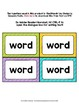 Monster Theme Classroom Decor Zeno Word Wall Cards