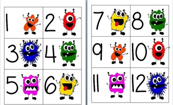 Monster Theme Classroom Pack
