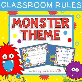 Monster Theme Classroom Rules