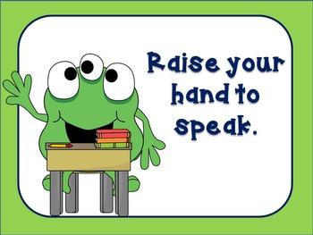 Monster Theme Classroom Rules (editable)