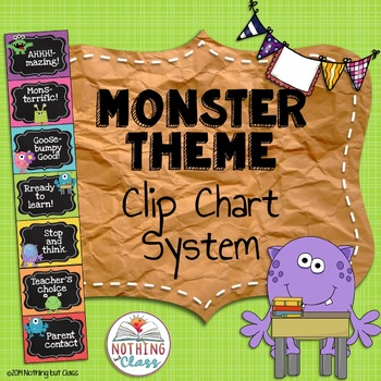 Clip Chart System Monster Theme